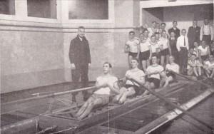 """Beckenrudern"" (MM, Februar 1929)"
