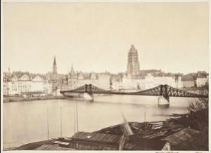 Eiserner Steg um 1869, Historisches Museum