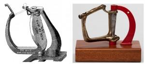 Ruderdollen: Patent von 1878 und Exemplar im FRV-Archiv