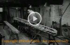 Kurzfilm über Bau eines Holzboots 1950 in Windsor, England