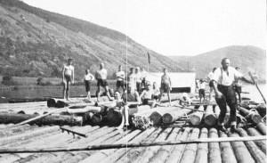 Wanderfahrt nach Lohr im August 1927