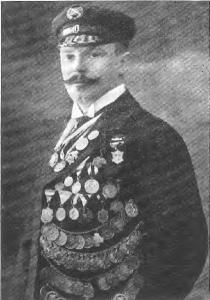 Fritz Nicolai ca. 1910, er trägt hier offensichtlich die Strandmütze des FRV (Quelle: Festschrift 75 Jahre EFSC 1891)